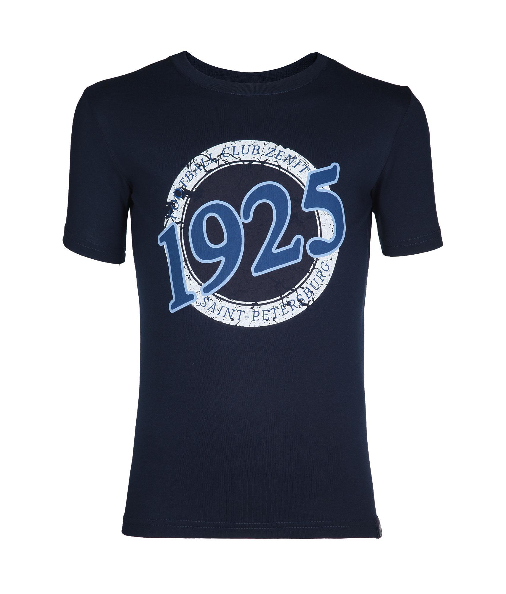 Футболка подростковая, Цвет-Темно-Синий, Размер-134-140