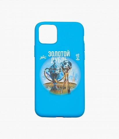 """Чехол для iPhone 11 Pro """"Золотой дубль"""""""