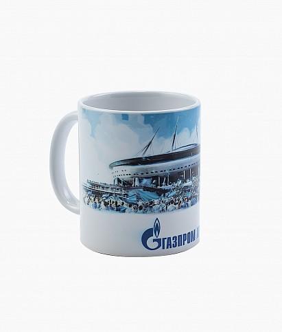 Кружка керамическая «Газпром Арена»