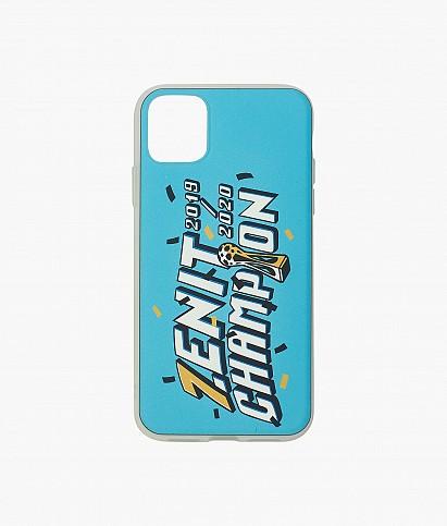 """Чехол iPhone 11 """"Чемпион России"""""""