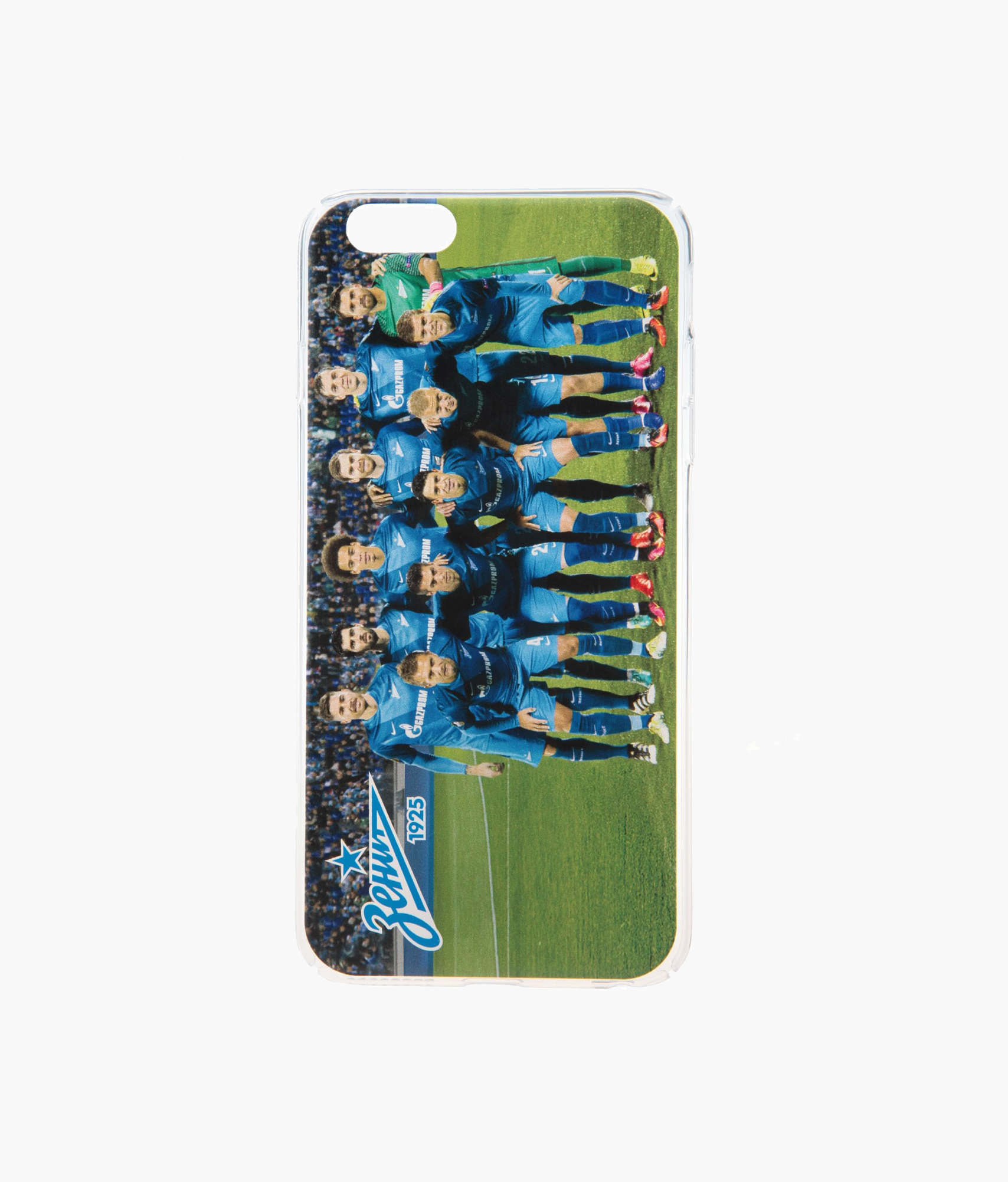 Фото - Чехол для IPhone 6/6S Plus «Команда 2016/17» Зенит чехол накладка для apple iphone 6 6s deppa gel plus case 85213 pink клип кейс полиуретан