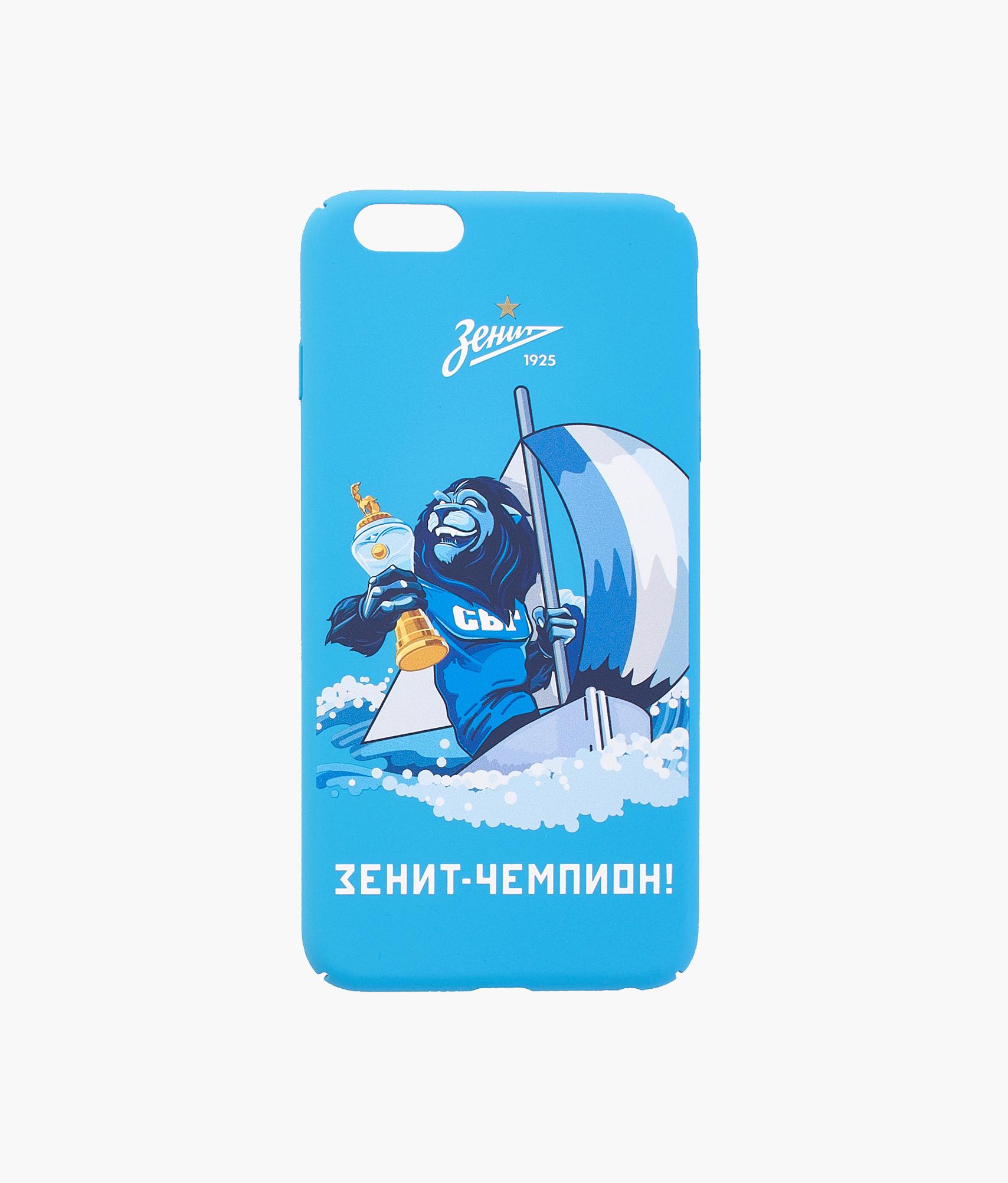 Фото - Чехол для IPhone 6/6S Plus «Лев» 2018/19 Зенит чехол накладка для apple iphone 6 6s deppa gel plus case 85213 pink клип кейс полиуретан