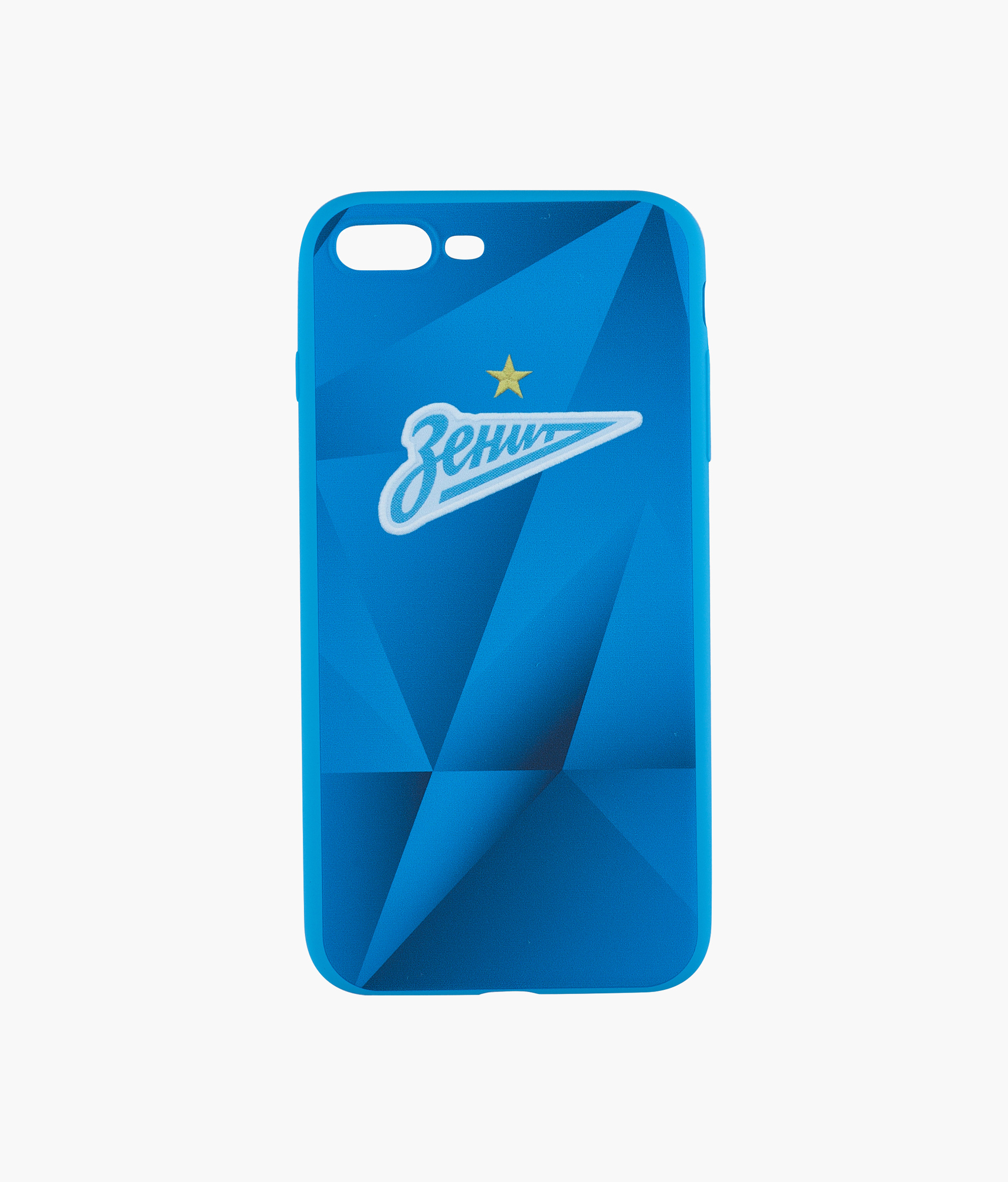 Фото - Чехол для IPhone 7/8 Plus «Форма 2019/20» Зенит Цвет-Синий кейс для назначение apple iphone 8 iphone 8 plus кейс для iphone 5 iphone 6 iphone 6 plus iphone 7 plus iphone 7 со стендом с окошком флип