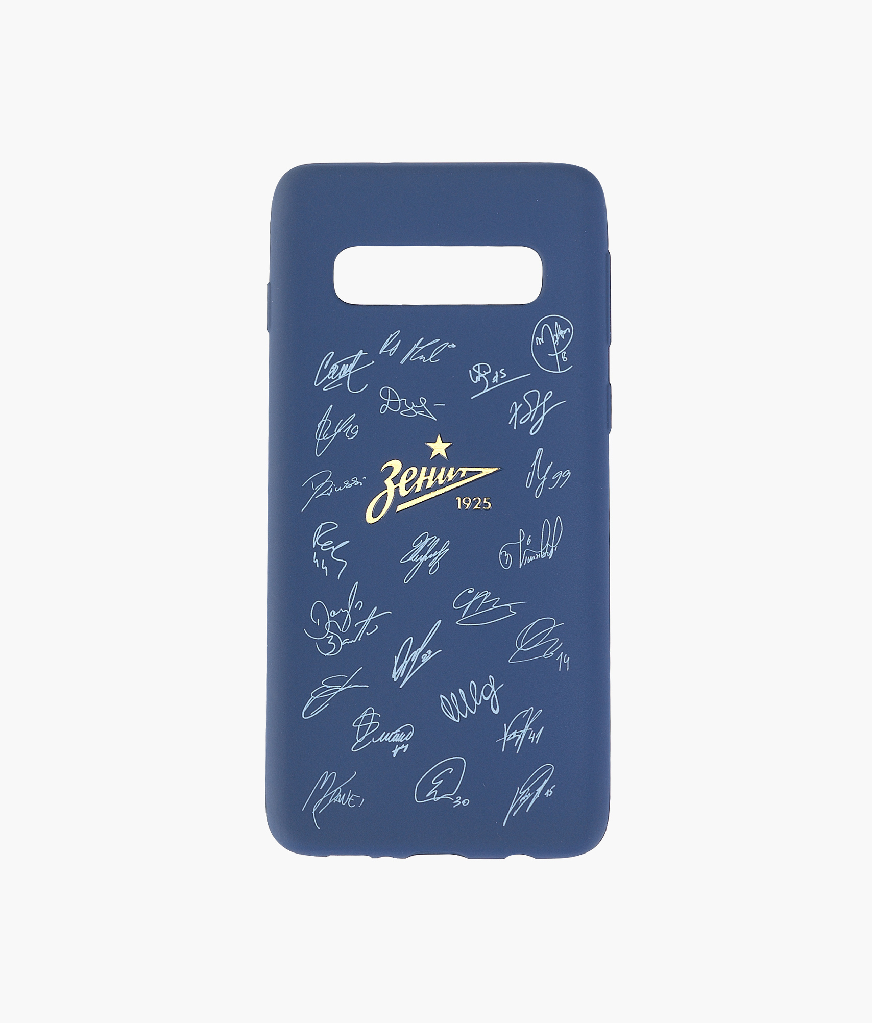 Фото - Чехол для Samsung Galaxy S10 Автографы Зенит аксессуар чехол neypo для samsung galaxy a10 2019 soft matte silicone dark blue nst11681