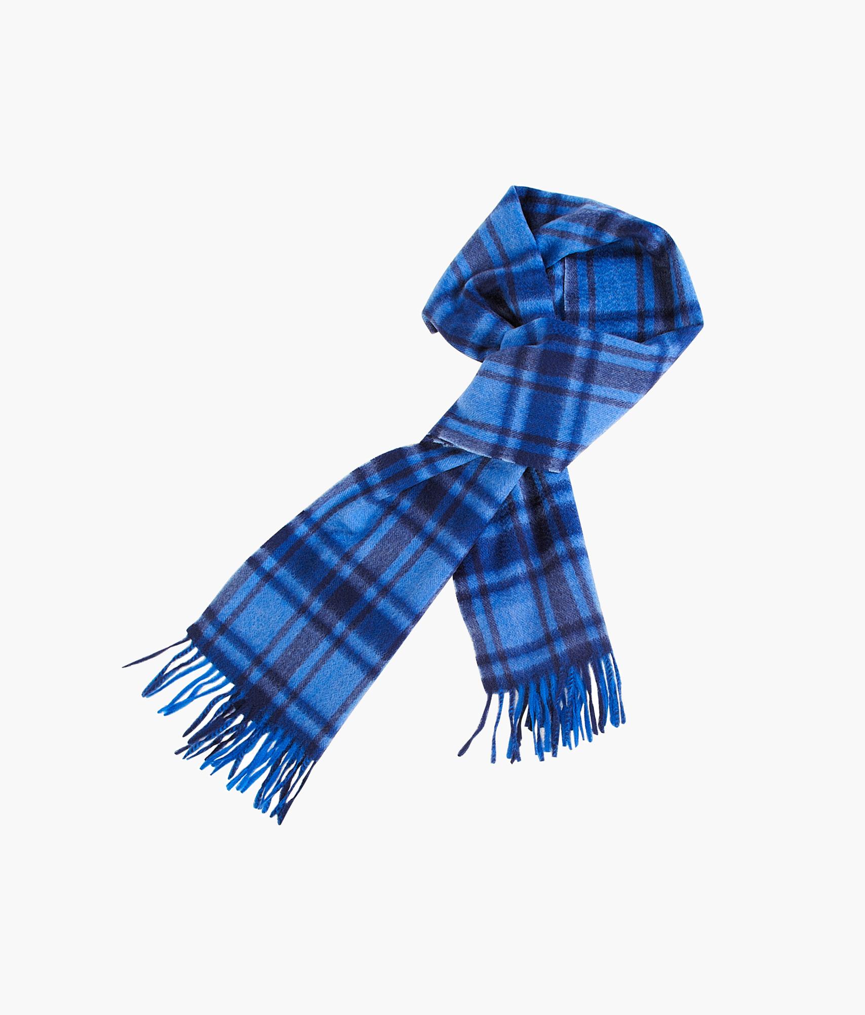 Шарф кашемировый Зенит Цвет-Синий золотая наклейка шарф 3х3 см зенит