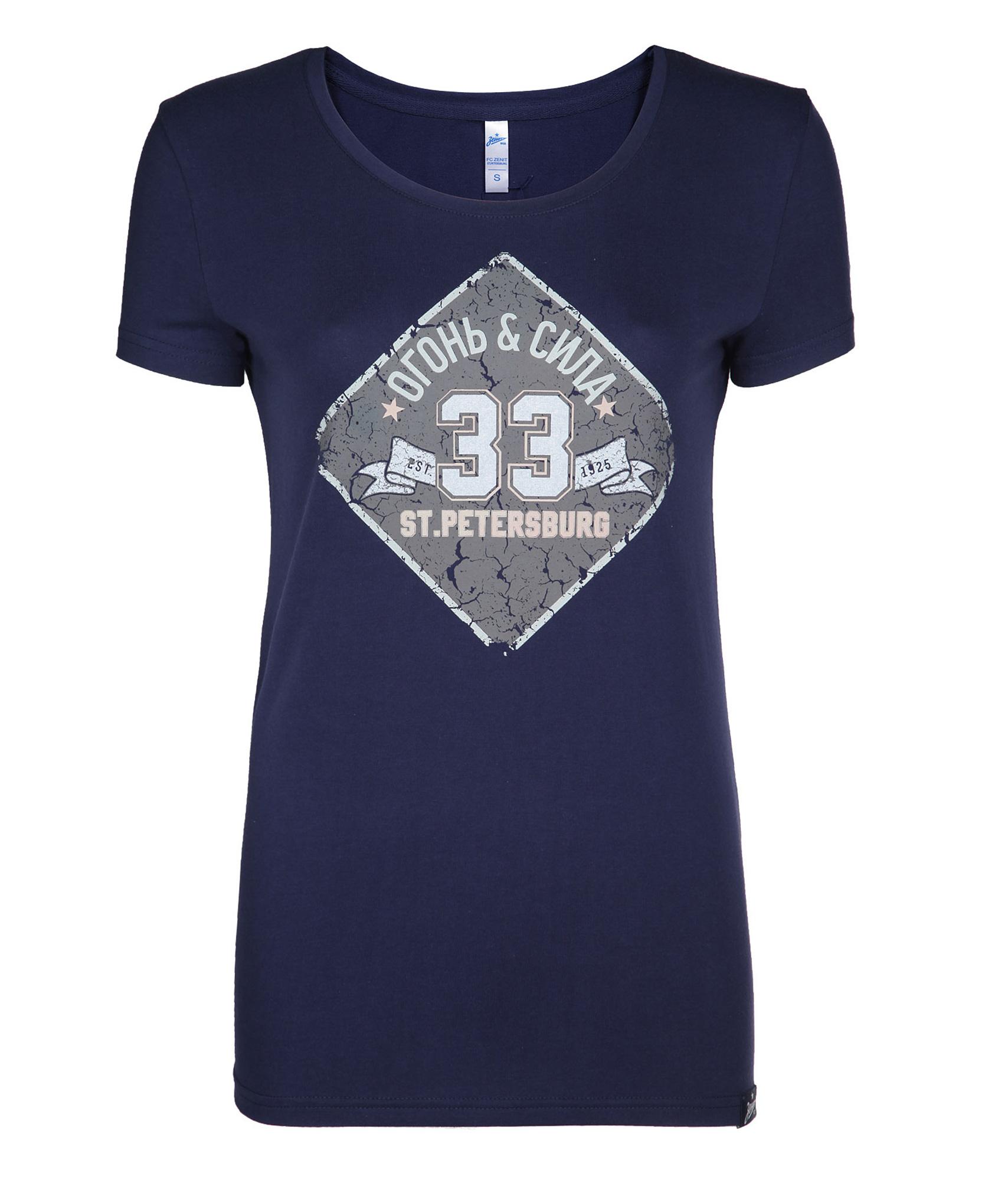 Футболка женская, Цвет-Синий, Размер-L женская футболка l
