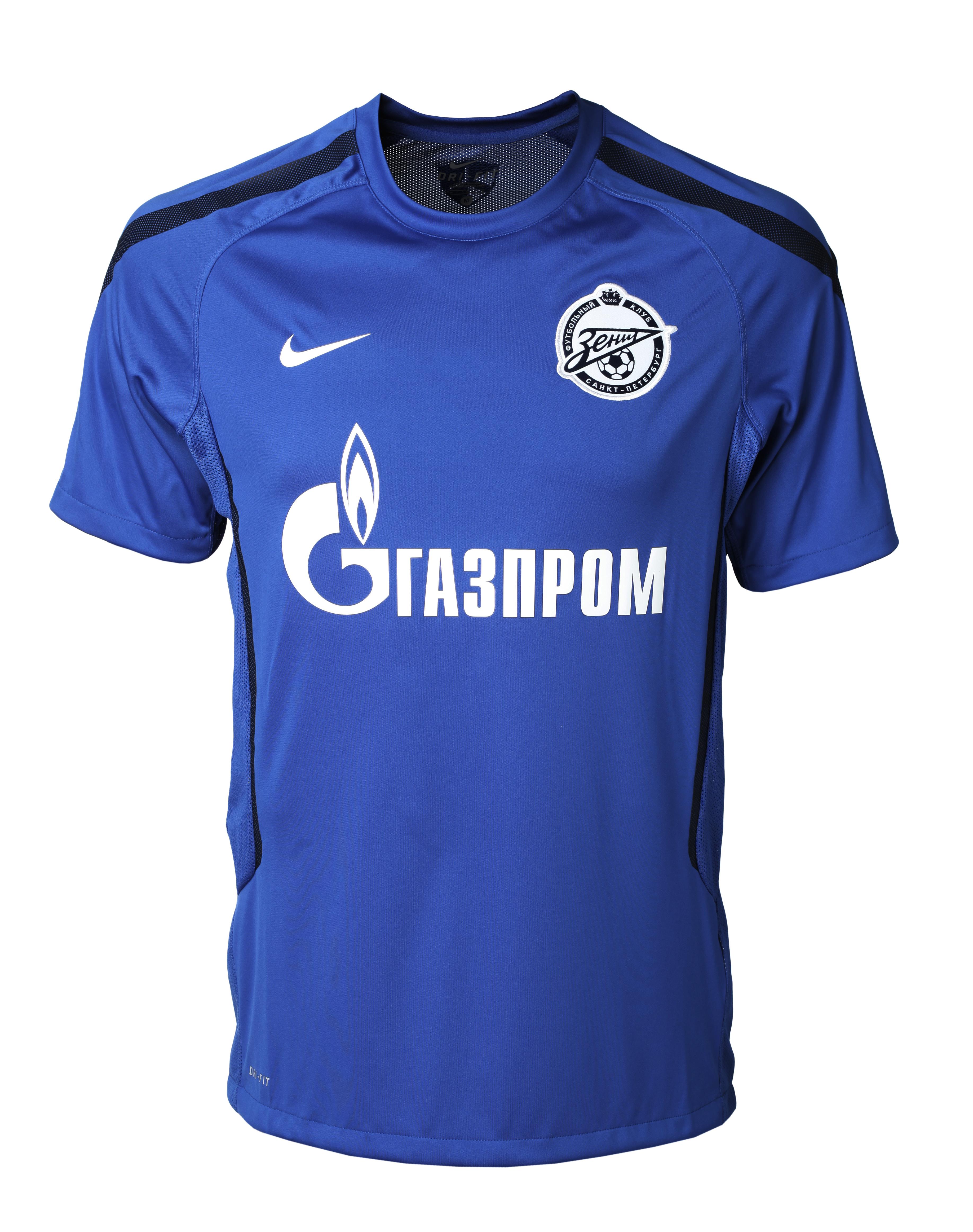 Топ Nike Zenit CS SS Trng, Цвет-Синий, Размер-XL