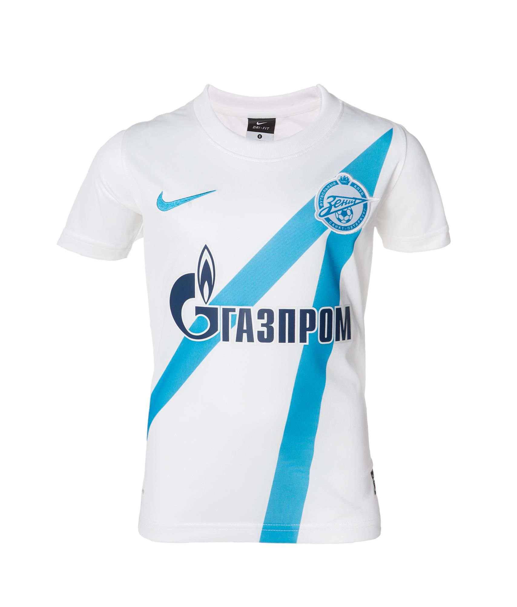 Детская футболка Nike 2012 белая, Цвет-Белый, Размер-XS