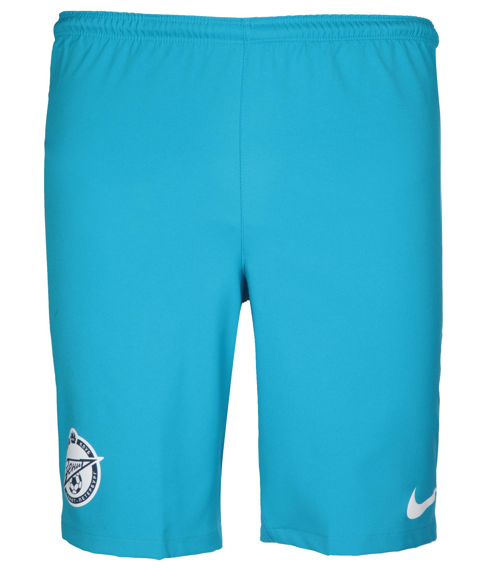 Шорты Nike домашние оригинальные 2012 Зенит Цвет-Лазурный шорты детские зенит цвет синий