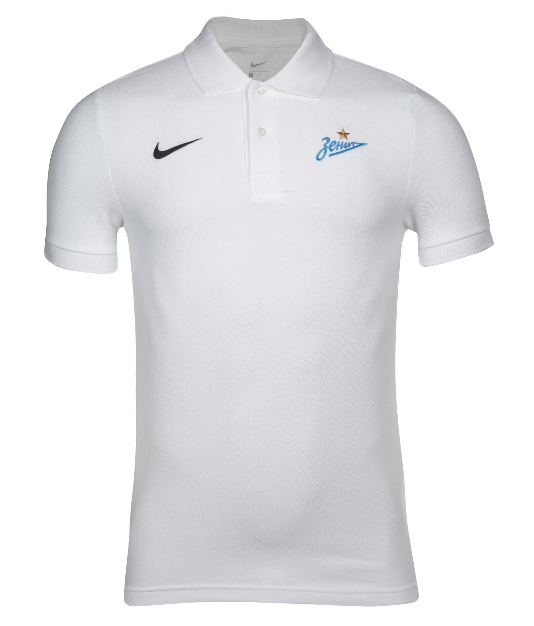 Поло Nike, Цвет-Белый, Размер-XL наколенник nike цвет белый размер l xl