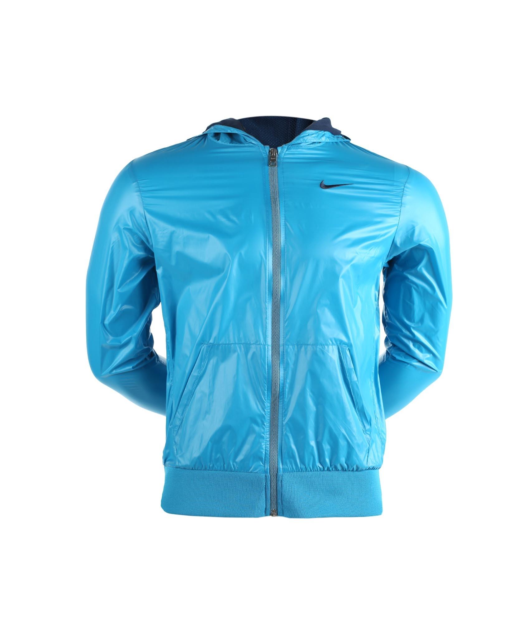 Куртка Nike YA76 ULTRA LGTWHT JKT-YTH, Цвет-Голубой, Размер-M