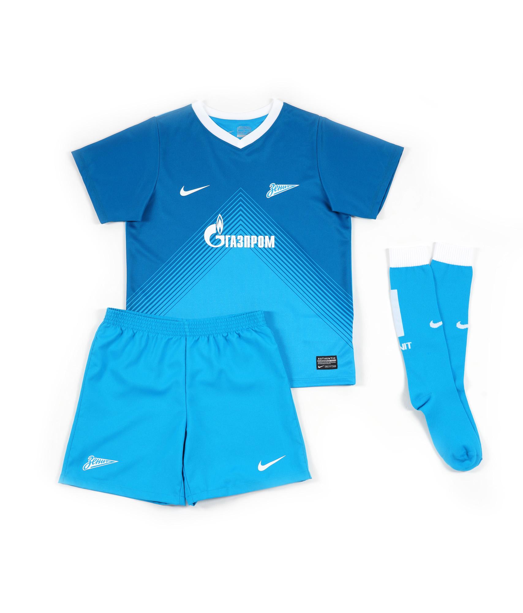 Комплект формы детский, Цвет-Синий, Размер-M