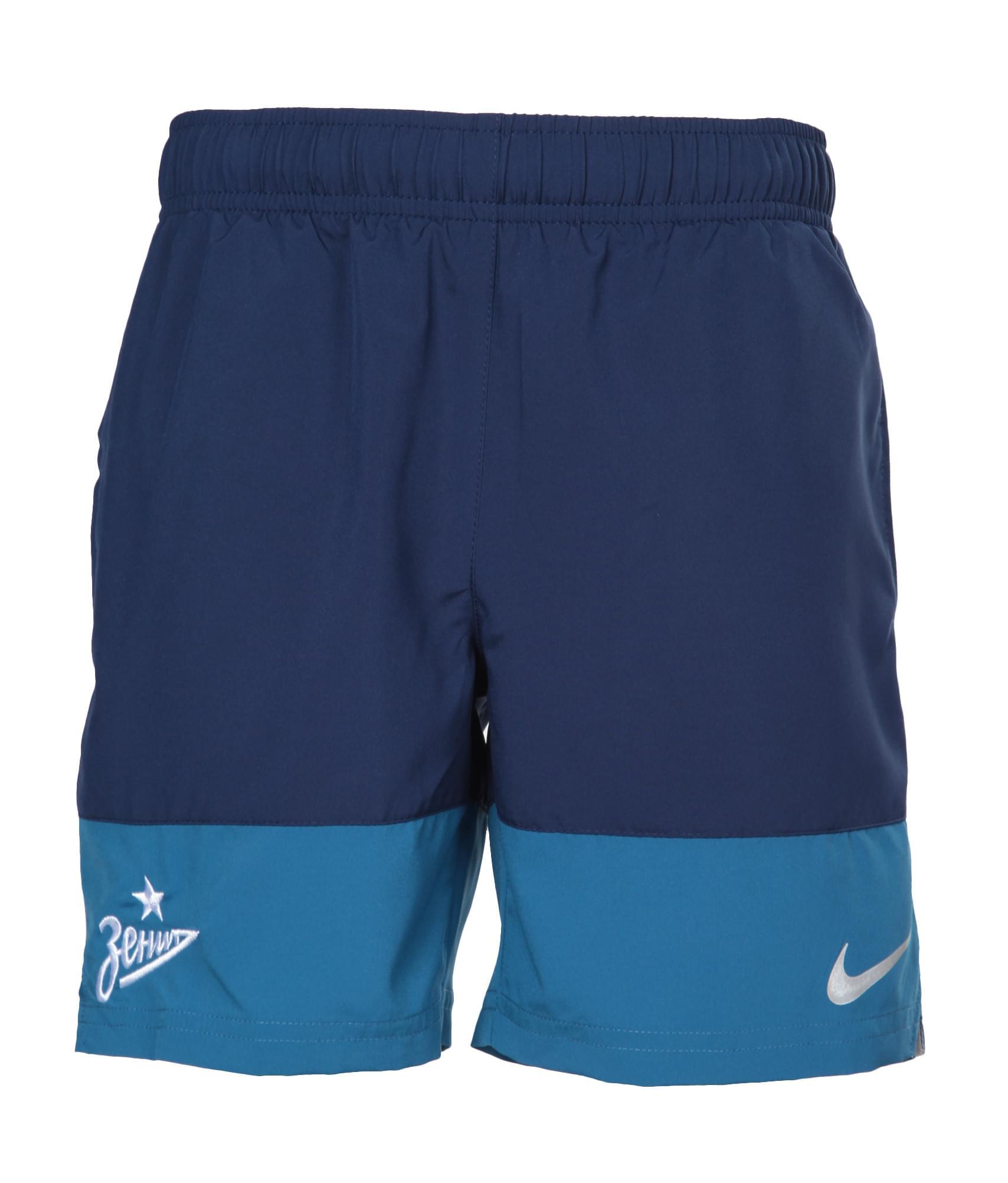 купить Шорты подростковые Nike, Цвет-Синий, Размер-S дешево