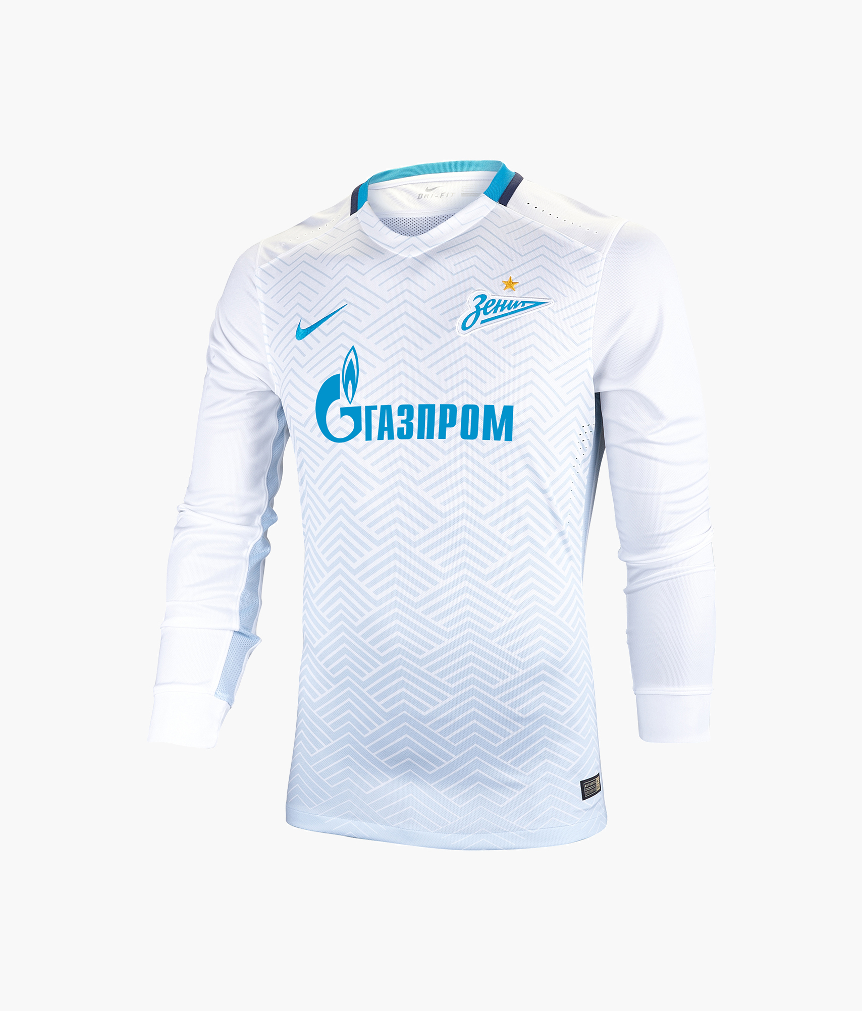 Оригинальная выездная футболка Nike с длинным рукавом Nike Цвет-Белый игровая выездная футболка цвет белый размер l