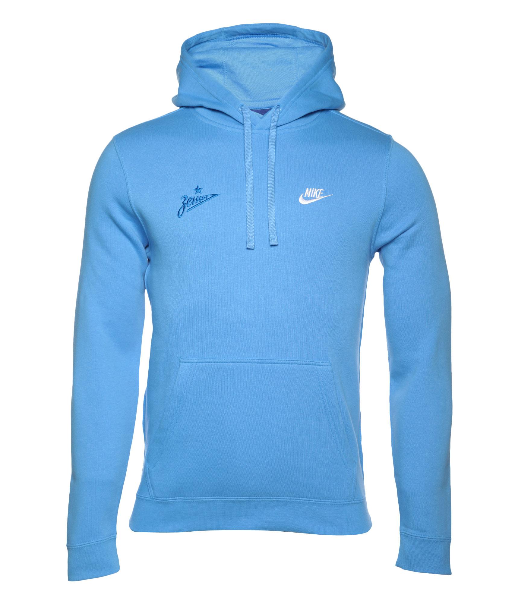 Толстовка Nike, Цвет-Голубой, Размер-M поло nike цвет голубой размер m
