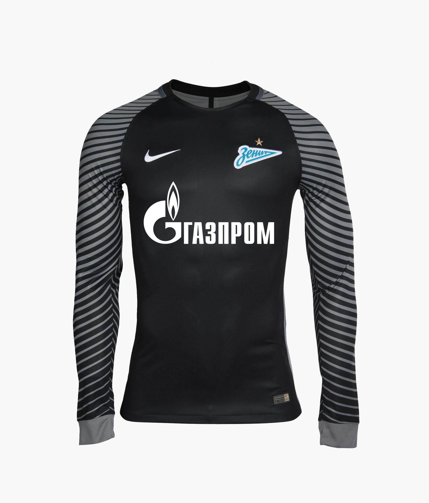 Оригинальная вратарская футболка Nike Nike Цвет-Черный