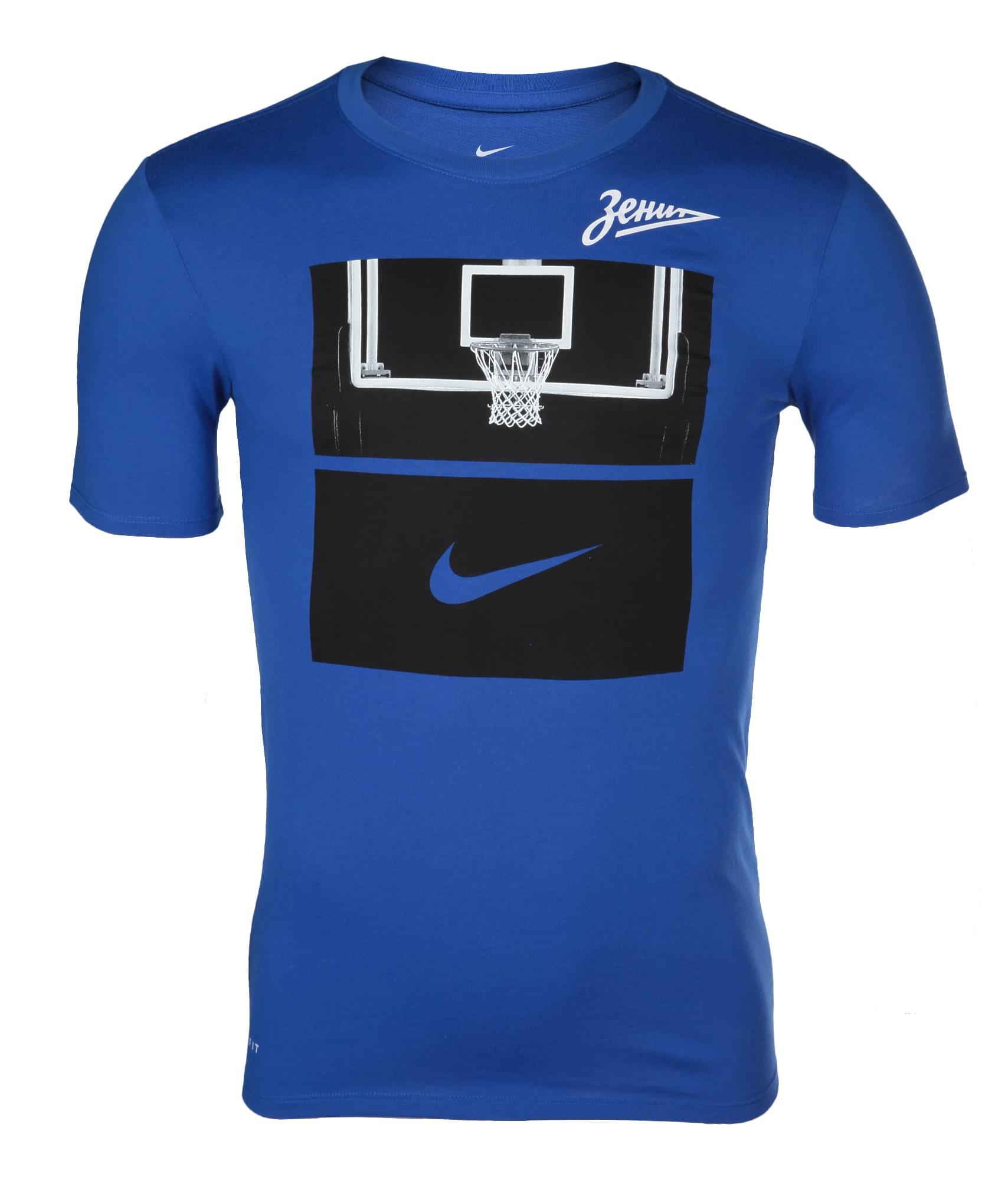 Футболка БК «Зенит» Nike Цвет-Синий