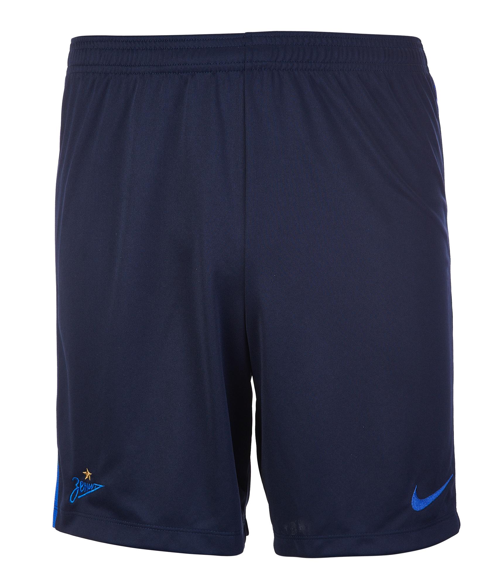 Шорты тренировочные подростковые Nike Zenit 2018/19 Nike шорты тренировочные подростковые nike zenit 2018 19 nike