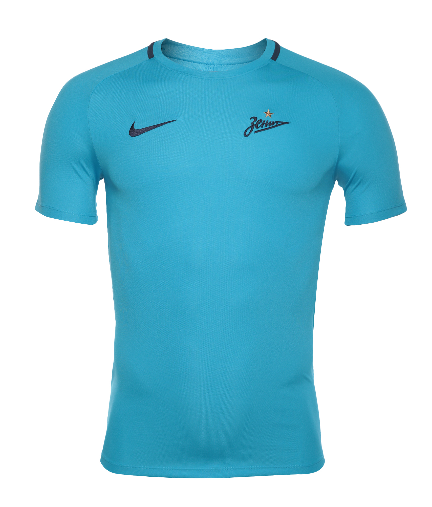 Футболка тренировочная Nike Nike Цвет-Синий футболка тренировочная подростковая nike размер xs