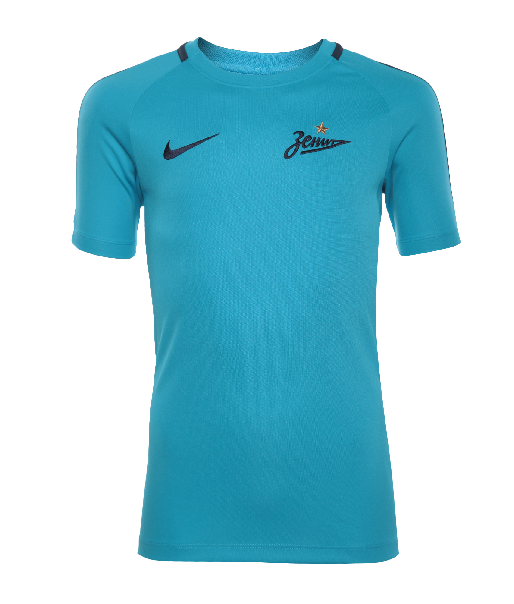 Футболка тренировочная подростковая Nike Nike Цвет-Синий футболка тренировочная подростковая nike размер xs