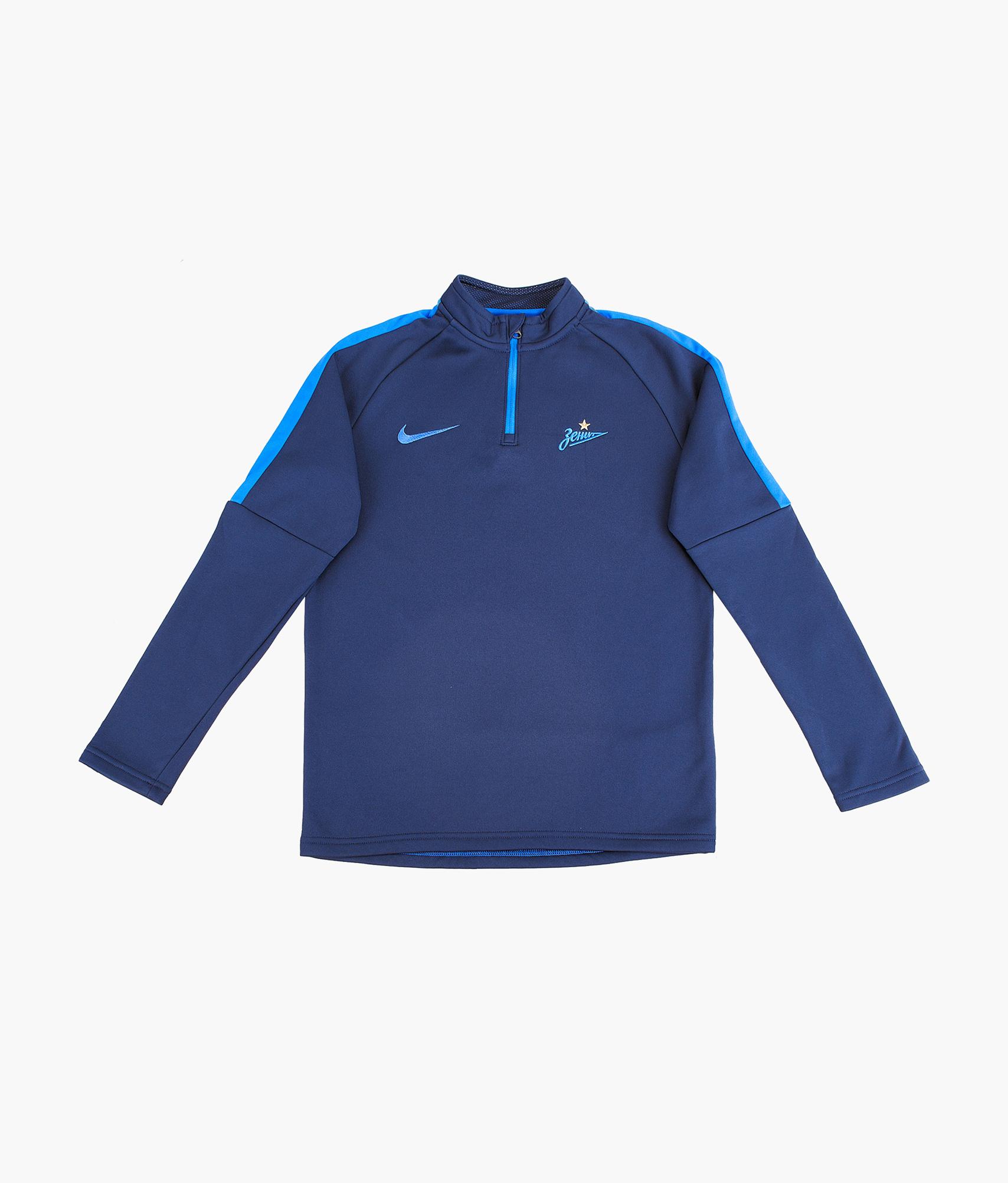 Джемпер тренировочный подростковый Nike 2018/19 Nike Цвет-Темно-Синий цены