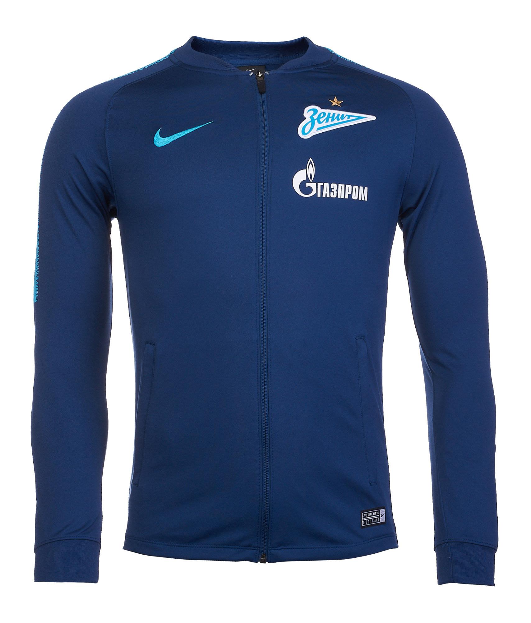 06316ccb Куртка от костюма Nike Zenit сезона 2018/19 918559-415 купить за 4 250 руб  в интернет магазине ФК Зенит