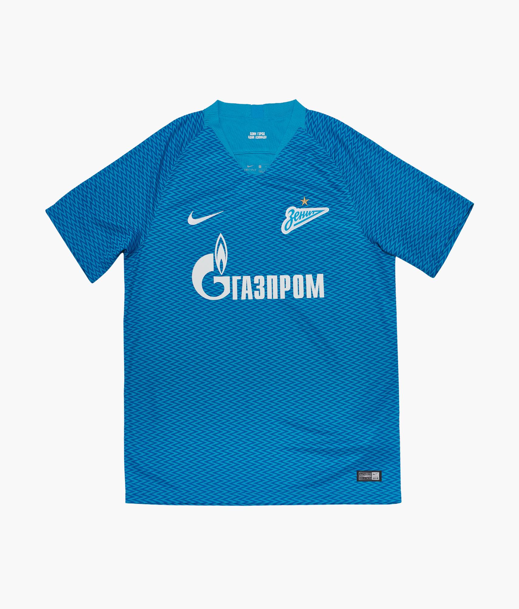 Домашняя игровая футболка Nike сезона 2018/2019 Nike Цвет-Синий nike nike ni464aghca01