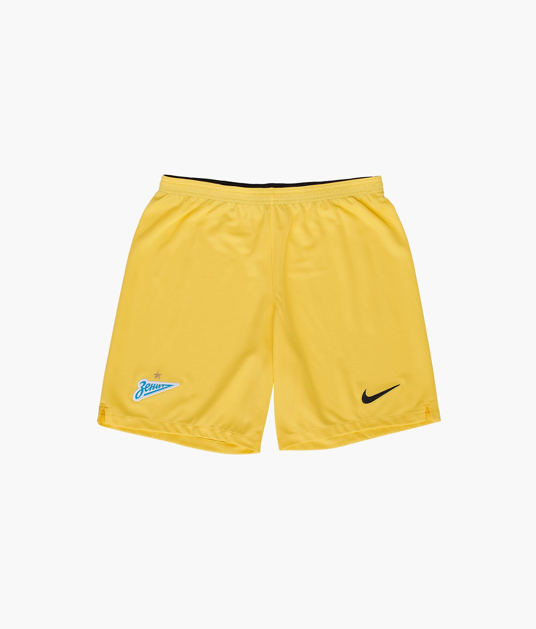 Шорты вратарские сезона 2018/2019 Nike Цвет-Желтый цена