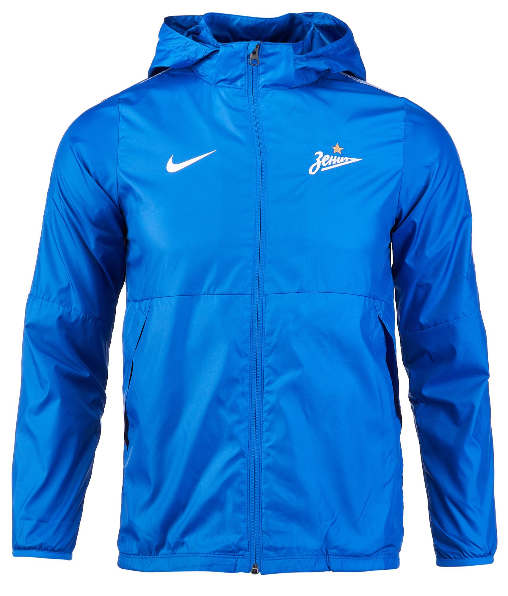 Ветровка подростковая Nike Zenit 2018/19  Цвет-Синий
