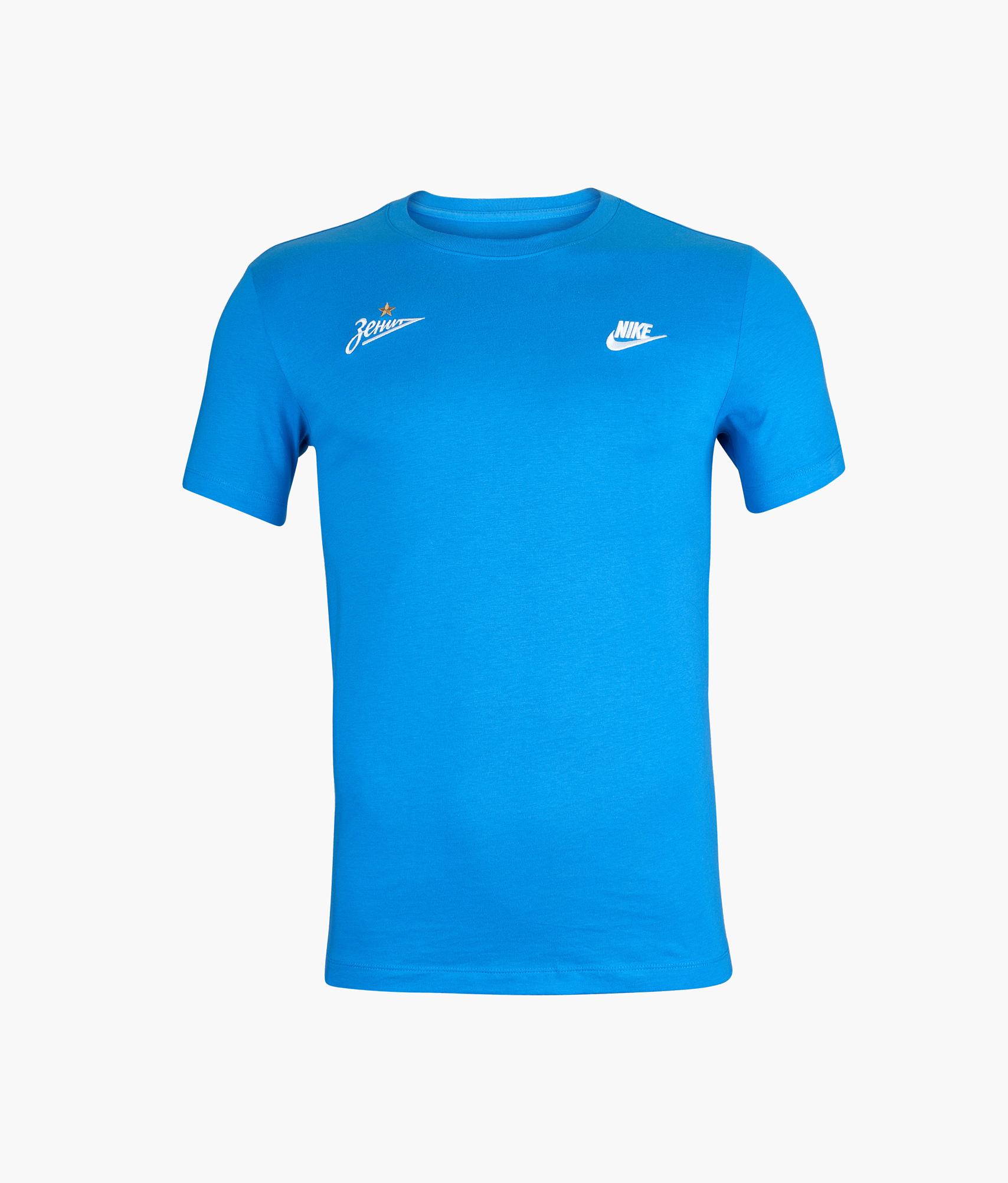 Футболка мужская Nike Цвет-Лазурный