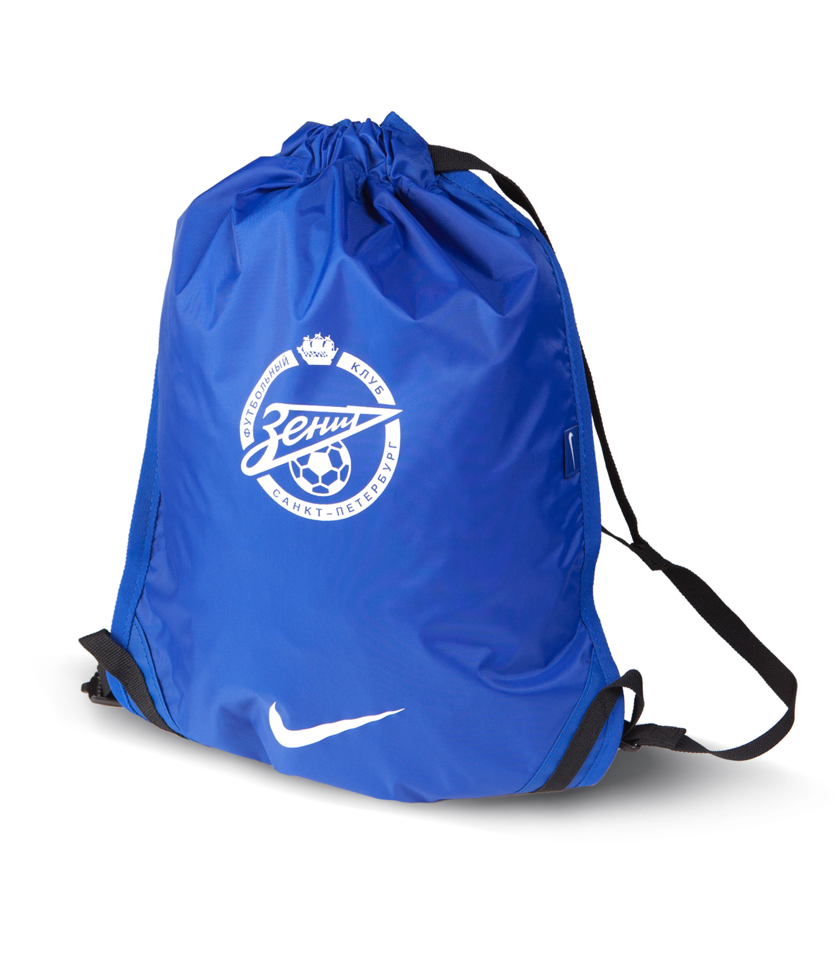 Сумка NIKE FOOTBALL GYMSACK, Цвет-Синий, Размер-MISC