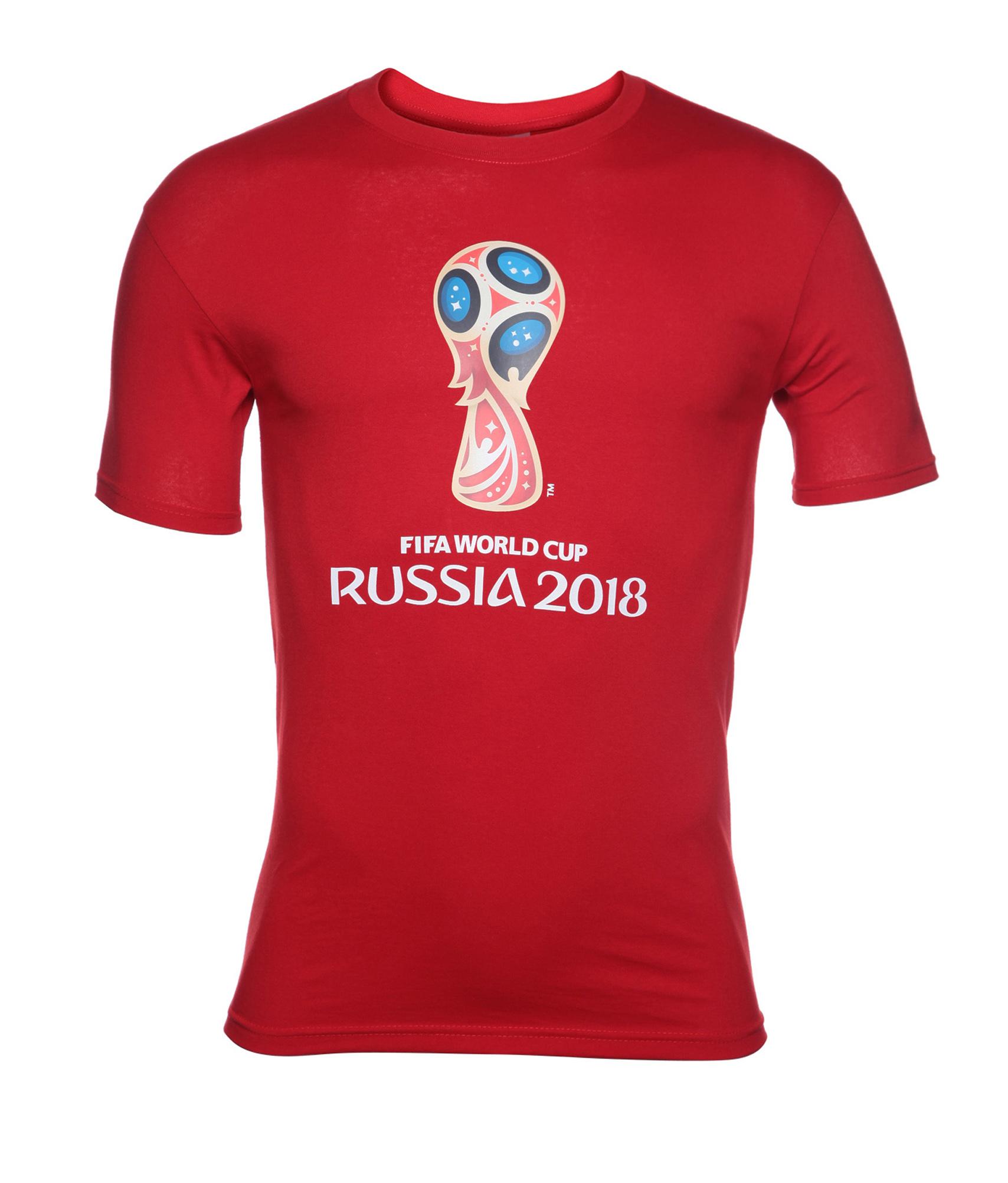 Футболка мужская «Эмблема Чемпионата мира-2018» Зенит Цвет-Красный redfox рукавицы polartec красный