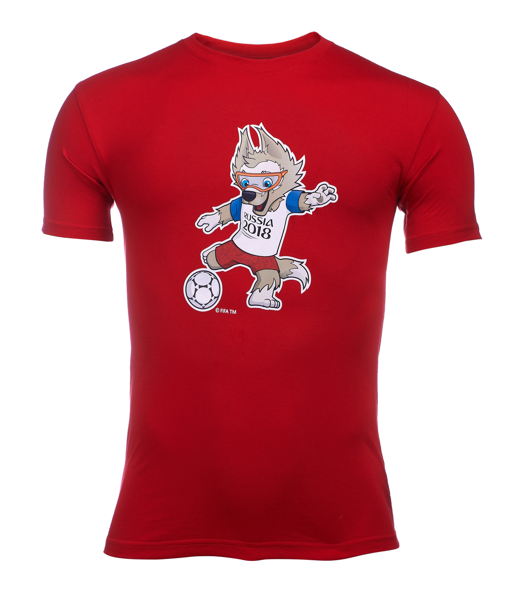 Футболка мужская «Забивака с мячом» Зенит Цвет-Красный redfox рукавицы polartec красный