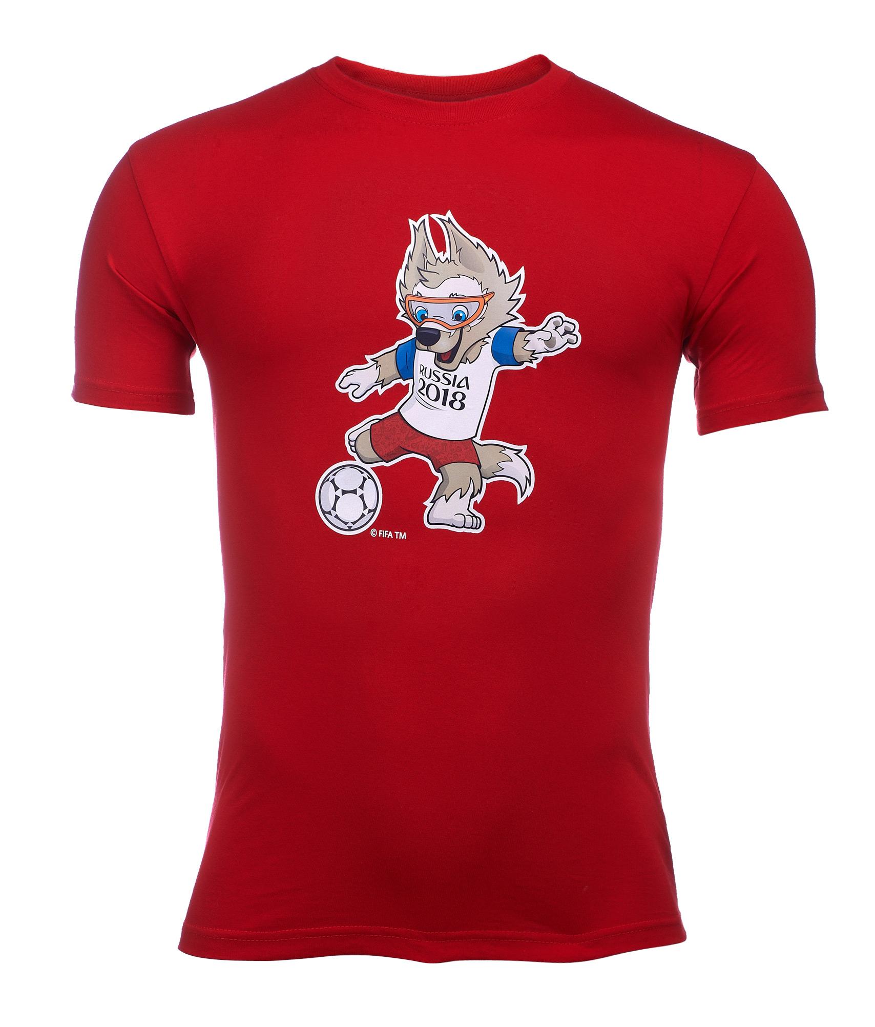 Футболка мужская «Забивака с мячом» Зенит Цвет-Красный футболка puma футболка disrupt tee