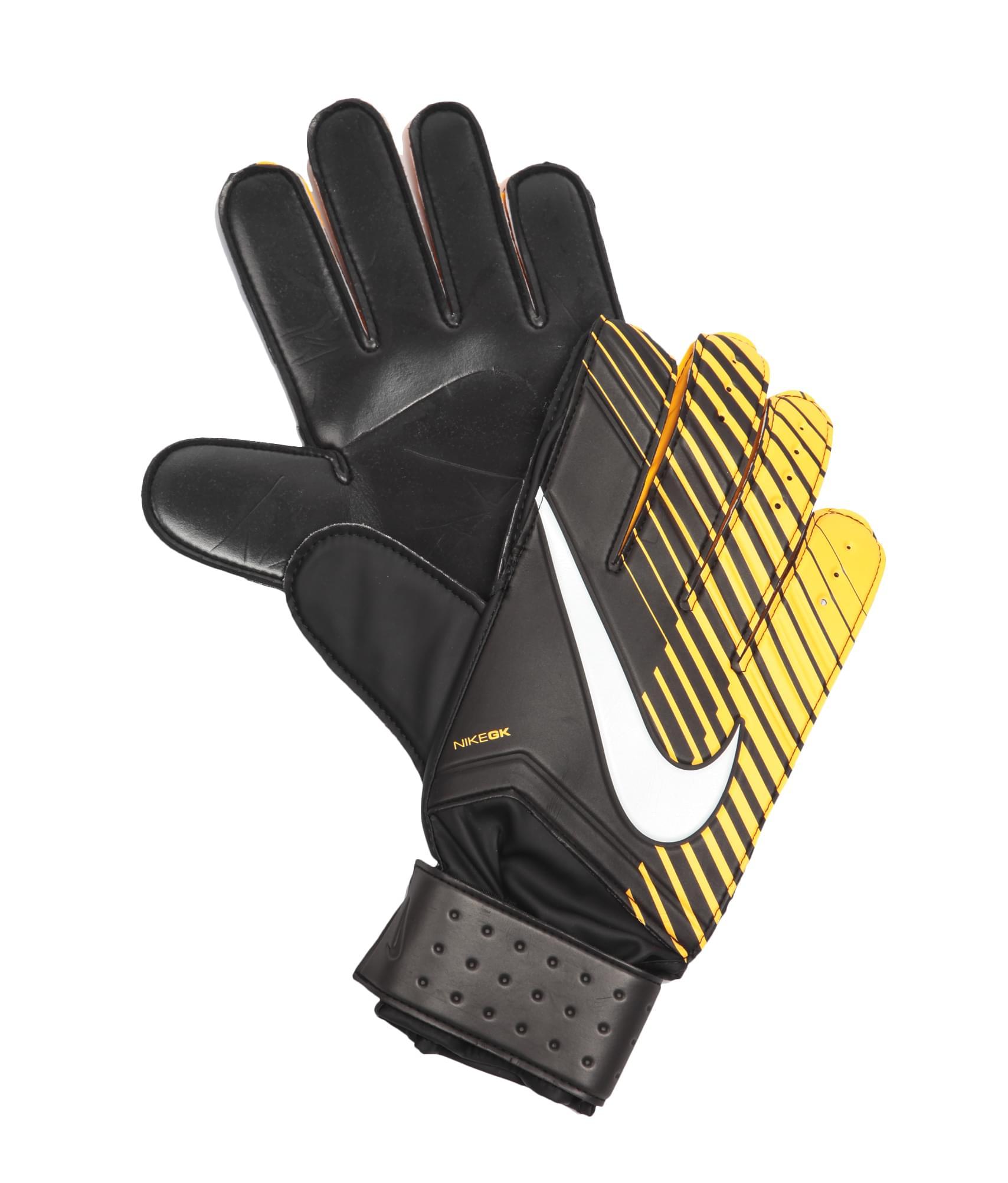 Перчатки вратарские Nike, Цвет-Черный, Размер-11 защита nike защита nk hyprstrng mtch ankl slv