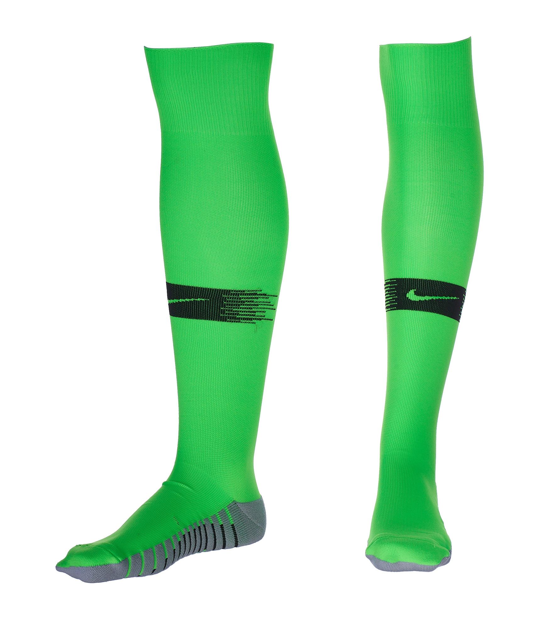 Гетры вратарские Nike сезона 2018/2019 Nike Цвет-Зеленый