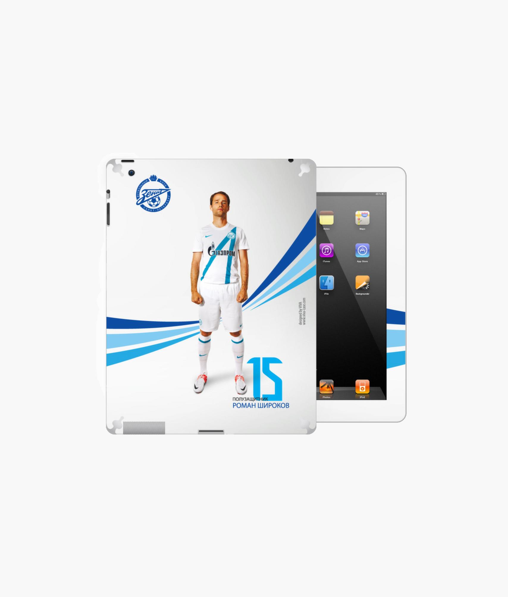 цены Наклейка на iPad/2/3/4 «Широков» Зенит